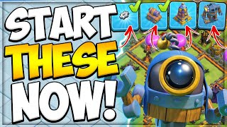 Faster Town Hall Upgrading by BH 9 Rush | How to Unlock the 6th Builder in Clash of Clans