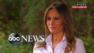 Melania Trump weighs in on the #MeToo movement