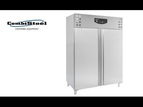 video 1, Armoire frigorifique ventilée 1400 L GN2/1