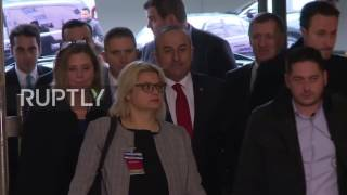 Switzerland: Foreign ministers arrive for Cyprus talks after landmark map exchange