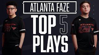 Cellium REFUSES TO DIE vs Huntsmen & Simp Kills FIFTY — Top 5 @Atlanta FaZe Plays of 2020