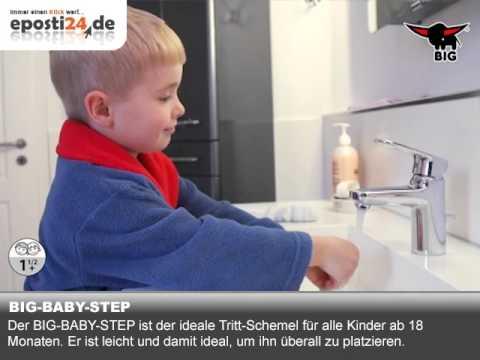 BIG BABY STEP - Robuster Tritt-Schemel von BIG