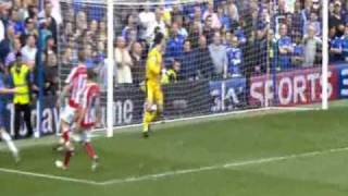 preview picture of video 'Frank Lampard's goal against Stoke City (the 5th of 7)'