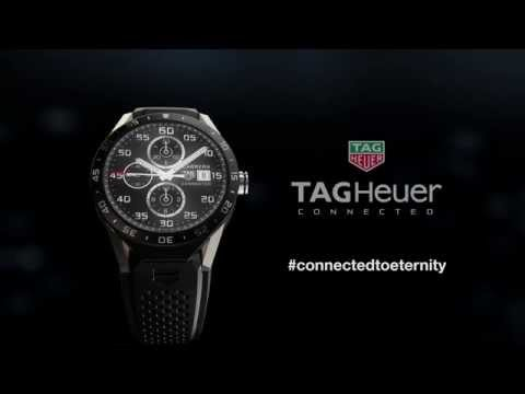 TAG Heuer Connected Android Wear Smartwatch [Video]