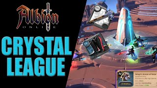 Albion Online | Crystal League - Double Healer DESTROYED With new Avalon Armour !!!