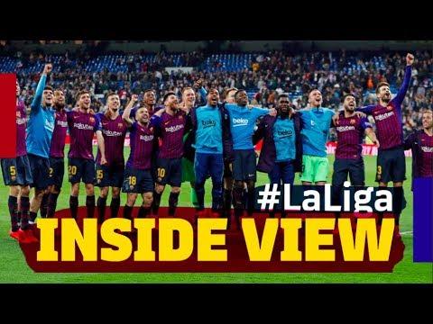 REAL MADRID 0-1 BARÇA   Inside #ElClasico   La Liga