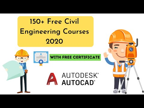 150+ Free Civil Engineering Courses 2020 | Learn Online For Free ...