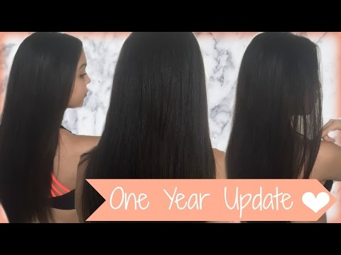 DIY Uncurly Keratin Straightening Treatment | 1 Year Update! Mp3