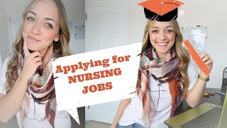 Applying for Nursing Jobs? (When to, Where to, & Why to!)