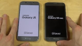 Samsung Galaxy J5 2017 vs. Samsung Galaxy S5 Neo - Which Is Faster?
