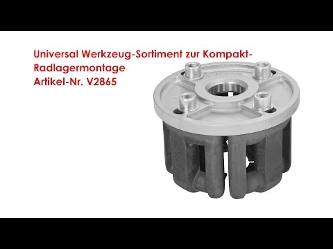 ViGOR Universal Werkzeug-Sortiment zur Kompakt-Radlagermontage V2865