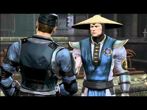 MK9 story mode Chapter 12: Stryker cutscenes