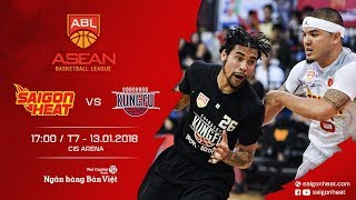 #Replay ABL 2017 || Home Game 3: Saigon Heat vs Chongson Kungfu 13/01