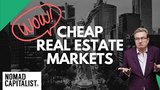 Three Surprisingly Cheap Real Estate Markets