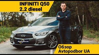Как купить новый Infiniti Q50 2.2d Diesel дешевле чем у дилера? Обзор Avtopodbor UA