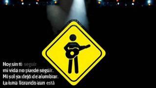 No volverás - Sobre Tierra / Rock en español El Salvador (Letra)