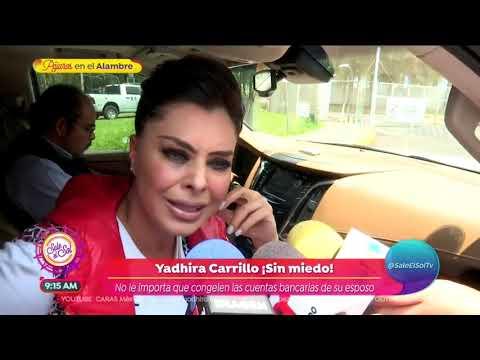 Yadhira Carrillo revela que su esposo tiene problemas de salud | Sale el Sol