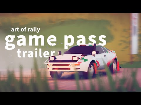 Art of Rally : Game Pass Trailer