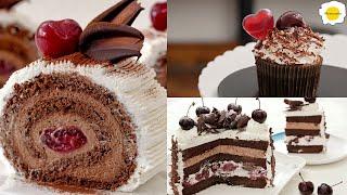 Black Forest Cake Collection 黑森林蛋糕合集 Collection de gâteaux de la Forêt-Noire