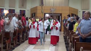 Canto de Entrada - Missa do 29º Domingo do Tempo Comum (21.10.2018)