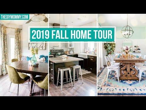 2019 FALL HOME TOUR   Fall DIY & Decor Challenge