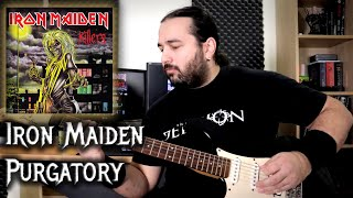 Iron Maiden – Purgatory (Guitar Playthrough)
