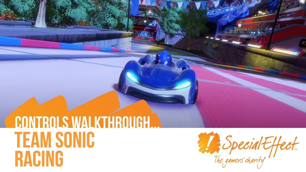 video placeholder for Sonic Team Racing | Controls Walkthrough