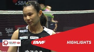 Singapore Open 2019 | Semifinals WS Highlights | BWF 2019