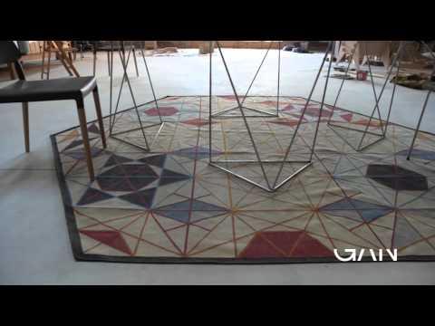 Прямоугольный ковер Hexa