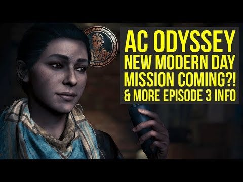 Assassin's Creed Odyssey Update To Add NEW MODERN DAY MISSION?! & More News! (AC Odyssey update)