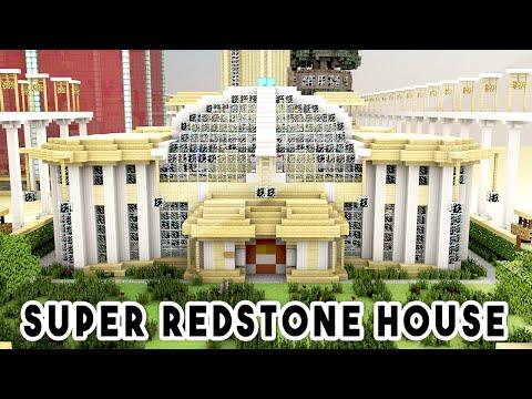Redstone Beach House (REDSTONE MODERN HOUSE) - Minecraft
