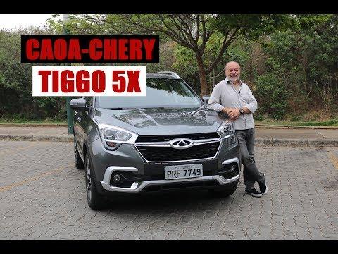 TIGGO 5X - Teste com Emilio Camanzi