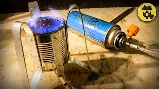 🔥 Газовая плита из КОНСЕРВНОЙ БАНКИ своими руками