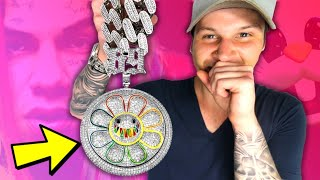 I FINALLY Bought 6IX9INES FAKE $1,000,000 FLOWER CHAIN!! (LETS DIAMOND TEST IT!)