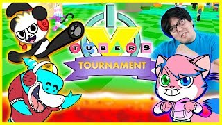 ROBLOX 1ST EVER TOURNAMENT COMPETITION ! Let's Play with VTubers Obby Vs. Floor is Lava