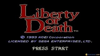 Liberty or Death gameplay (PC Game, 1993)