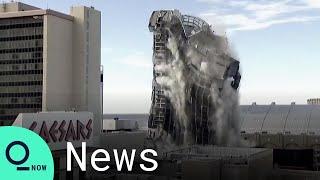 Trump  Plaza has been demolished in Atlantic City