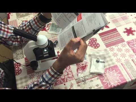 Unboxing de microscopio Bresser 5013000 BioDiscover - (AL/DL, 20x - 1280x)