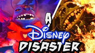 A Disney Disaster Stitch's Great Escape