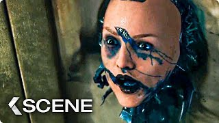 Alita vs Androids Fight in the Valley Extended Movie Clip - Alita: Battle Angel (2019)