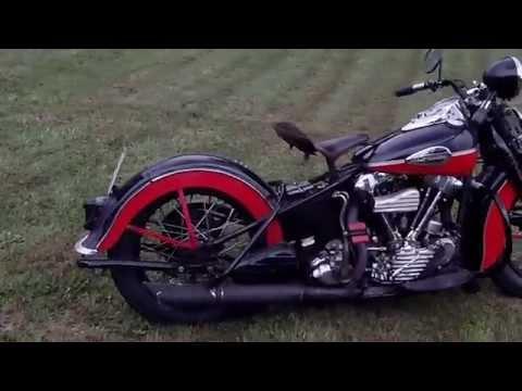 Harley Knucklehead 42 EL