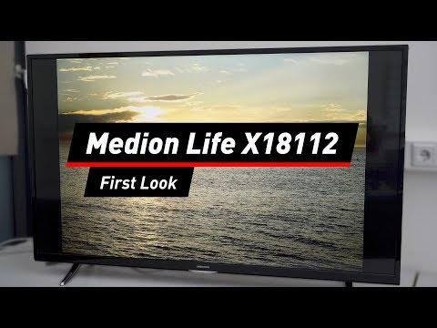 Medion Life X18112: 55-Zoll-Fernseher mit UHD von Aldi