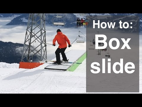 HOW TO BOX SLIDE ON SKIS