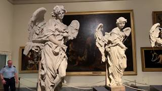 4K Berninis Angels - 4 Angel Statues @ Vatican Museum - Rome Italy - Eric Clark's Travel Videos