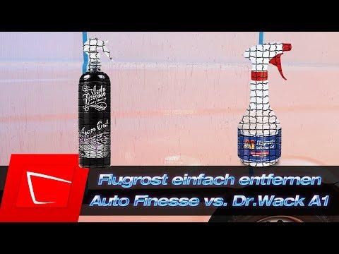 Flugrost entfernen - Auto Finesse Iron Out vs. Dr. Wack A1 Flugrostentferner Gel Test inkl. D-Tox