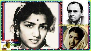 LATA JI-Film-RIYASAT-1955-Ankhen Hansti Hain Rota Hai