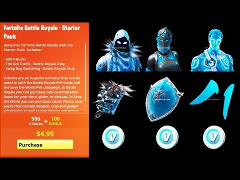 Fortnite New Frozen Legends Starter Pack Bundle New Leaked Frozen