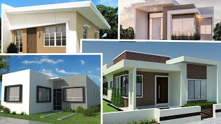 Fachadas De Casas Modernas Y Sencillas / Modern And Simple House Facades