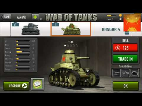 War of Tanks wideo