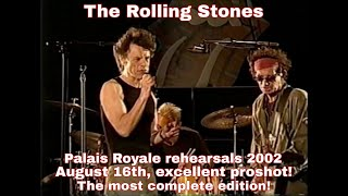 The Rolling Stones - Toronto Rehearsals 2002 - Excellent Proshot!!!